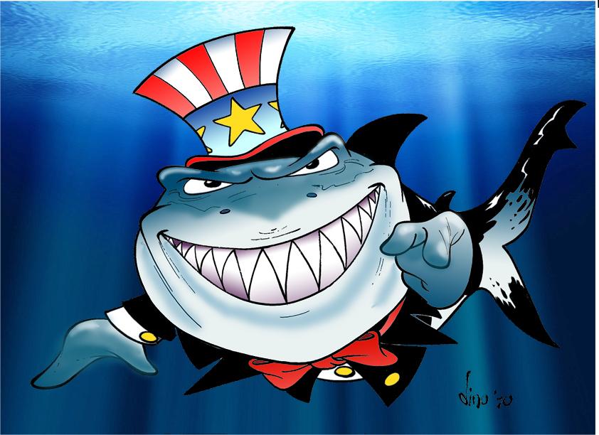 Sam the Shark 800